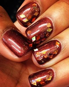 The BEST Thanksgiving nail art you didn't know you needed