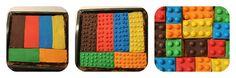 Im letzten Schritt müssen alle Einzelteile des LEGO® Kuchen zusammengesetzt werden