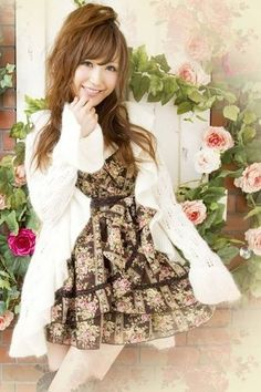 Japanese Liz Lisa Chiffon & Lace Jumpsuit