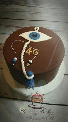 Evil eye cake