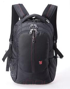 Slim Business Laptop Backpack Water Resistance Travel Bag Knapsack