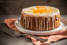 Greek Desserts, Vegan Desserts, Vegan Recipes, Let Them Eat Cake, Vanilla Cake, Bakery, Cheesecake, Food Porn, Favorite Recipes