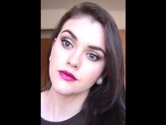 ▶ ♥Fall Makeup Tutorial♥ The Balm Nude Tude Palette - YouTube