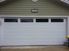 Flush Panel Garage Doors With Windows Google Search