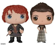 Jamie and Claire...together...too funny.