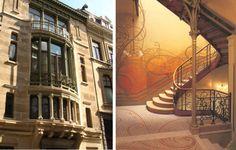 O Art Nouveau propunha-se a ser um estilo total, expressando-se em diferentes escalas de design – arquitetura, design de interiores;  artes decorativas, incluindo joalharia, mobiliário, têxteis, prata e utensílios e objetos de iluminação, De acordo com a sua filosofia, a arte deve ser um modo de vida.
