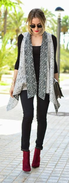 Fall Outfit Ideas // This is totally what I've practically worn. So completely me.