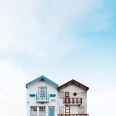 """Lonely Houses: Sejkko's Surreal Photos of Traditional Portuguese Homes - via archdaily 25.05.2015 
