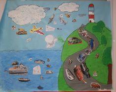 Nuestro Mural De Los Transportes