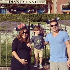 See Nick and Vanessa Lachey Celebrate Each Other's Birthdays With Son Camden at Disneyland%0A%0AVanessa Lachey, Nick Lachey, Instagram