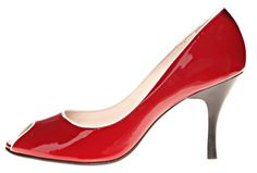 Already have these in navy, but the red ones are SO lovely! - Next Generation Tero Palmroth, Tacco Vanessa Louboutin Pumps, Christian Louboutin, Shoe Types, Court Shoes, Fasion, Finland, Stiletto Heels, Navy, Red