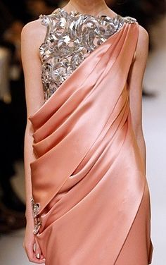 Lovely Gala Dresses, Traditional Fashion, Yesterday And Today, Modern Fashion, Coral, Peach, Chanel, Womens Fashion, Salmon