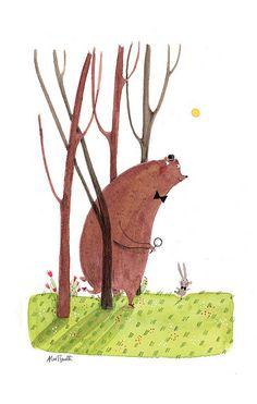 Bear and Bunny Detectives | Flickr - Photo Sharing!