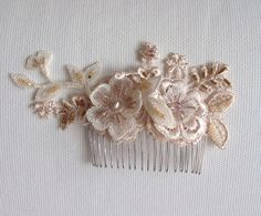 Bridal hair comb by Blingforladys on Etsy