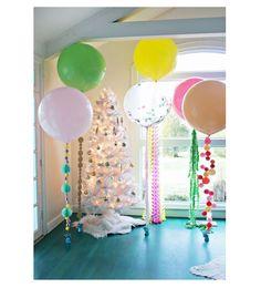 Portada_5 ideas para decorar globos gigantes-vía-AHDO