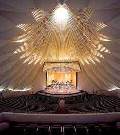 Santiago Calatrava    Auditorio de Tenerife, Adán Martín (Santa Cruz de Tenerife, España)    2003