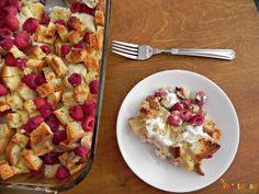 Raspberry Breakfast Casserole – #glutenfree #dairyfree | Vegetarian Mamma
