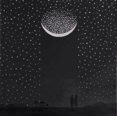 Caught in the stars under the Moon