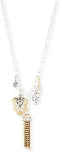 Lulu Frost Lillet Long Layered Tassel Necklace HNBT8NxzzG