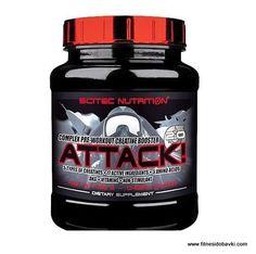 Scitec nutrition attack 2.0 е хранителна добавка, която съдържа мулти-векторна креатинова матрица и таурин, таурин етил естер, бетаин и гликоциамин.