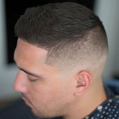 High and Tight Fade - Best Men's Hairstyles: Cool Haircuts For Men. Most Popular Short, Medium and Long Hairstyles For Guys High Skin Fade, Skin Tight Fade, Cool Mens Haircuts, Cool Hairstyles For Men, Men's Hairstyles, Men's Haircuts, High And Tight Haircut, High Fade Haircut, Medium Hair Styles