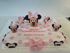 Realizzata in pasta di zucchero per il primo compleanno di  Ludovica
