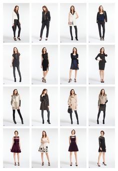 The new Karen Millen autumn / winter 2013 look book phase 2 (outside), rebranded by October Sun.
