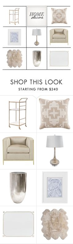 """""""Home Decor"""" by kathykuohome ❤ liked on Polyvore featuring interior, interiors, interior design, home, home decor, interior decorating, Leith, modern, livingroom and homedecor"""
