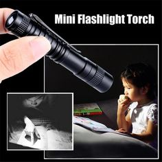 Energy-saving Medical Handy Portable Pen Shaped Usb Rechargeable Mini Flashlight Led Torch With Stainless Steel Cli Good Companions For Children As Well As Adults Security & Protection