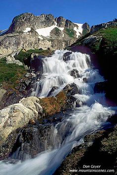 Waterfall below White Rock Lakes | A waterfall below White R… | Flickr