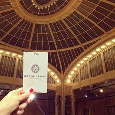 D DAY! Are you ready? Because we are! #GaliaLahav #BFW2015