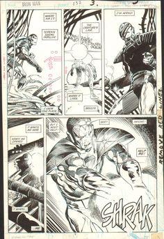 Iron Man #232 Page 3 (Barry Windsor-Smith, Bob Layton) (1988) Comic Art