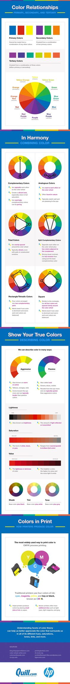 Psychology : Psychology : Without realizing it we often pick up on color theory whether in ar