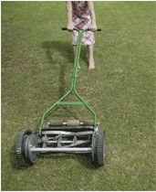 use to love helping dad mow the lawn