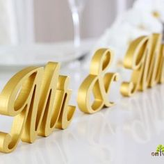 Sweetheart Table Decor Mr and Mrs sign Valentine Day Gift   Etsy Wedding Table Centerpieces, Table Decorations, Green Bridal Showers, Sweetheart Table Decor, Free Standing Letters, Wooden Wedding Signs, Painted Signs, Valentine Day Gifts, How To Memorize Things