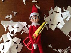 Creative Elf on the Shelf ideas for a big finale on Christmas Eve