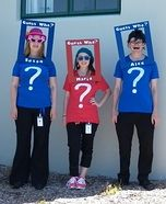 Guess Who Group Costume