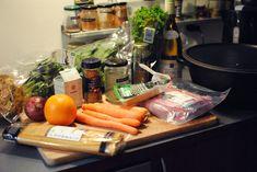 Opskrift: Ragout (sådan der en kød-grønt-pasta-ret)