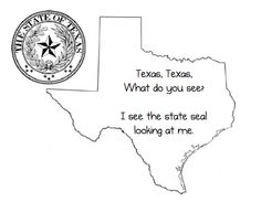 texas regions coloring pages - photo#26