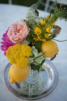 Lemon-Floral-Centerpiece