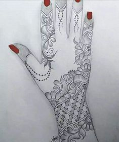 Khafif Mehndi Design, Floral Henna Designs, Simple Arabic Mehndi Designs, Mehndi Designs For Girls, Arabic Henna Designs, Mehndi Designs 2018, Mehndi Designs For Beginners, Modern Mehndi Designs, Mehndi Designs For Fingers