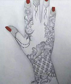 Henna Hand Designs, Dulhan Mehndi Designs, Mehndi Designs Finger, Floral Henna Designs, Latest Bridal Mehndi Designs, Full Hand Mehndi Designs, Mehndi Designs 2018, Mehndi Designs For Beginners, Mehndi Designs For Girls