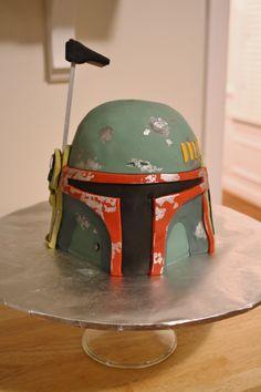 Boba Fett Cake