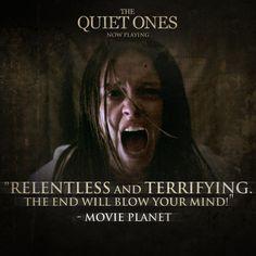 Jane Harper, The Quiet Ones, Scary Stuff, Relentless, Love Movie, Horror Films, Experiment, Lions, Studios