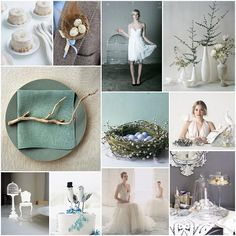 Light as a feather inspiration board