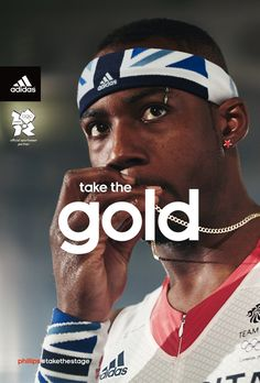 Adidas London 2012 campaign - love it.
