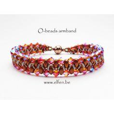 Pakket armband O-Beads met SWAROVSKI