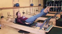 Ab Exercise on the Pilates Reformer