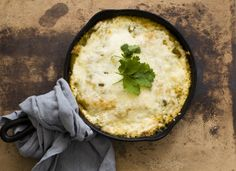 """Pork enchilada verde casserole 