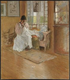 William Merritt Chase (American, 1849–1916). For the Little One, ca. 1896. The Metropolitan Museum of Art, New York. Amelia B. Lazarus Fund, by exchange, 1917 (13.90)